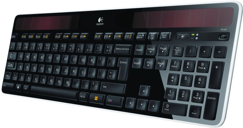 Logitech Wireless Solar K750 Trådløs Tastatur Engelsk - USA/International Engelsk