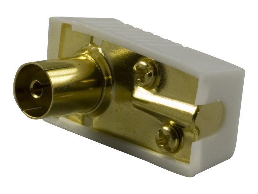 Deltaco Adapter IEC-kontakt Hona