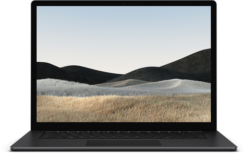 """Microsoft Surface Laptop 4 för företag Black Core i7 8GB 512GB SSD 15"""""""