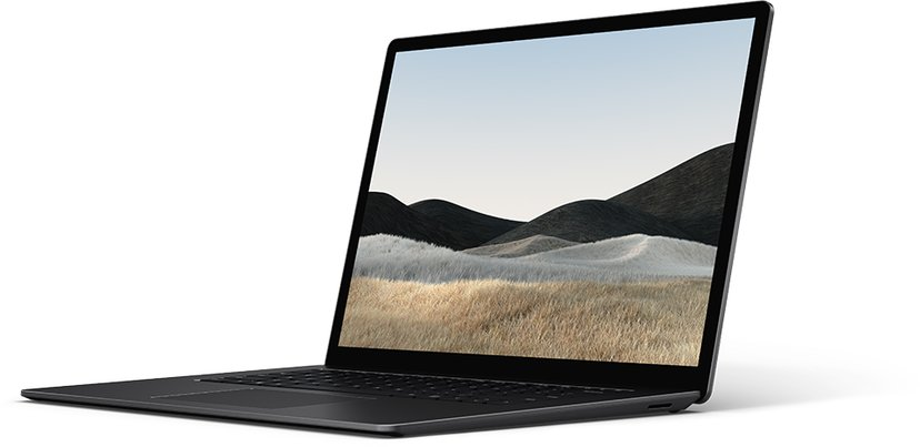 Microsoft Surface Laptop 4 til virksomheder Black Core i7 8GB 512GB SSD 15""