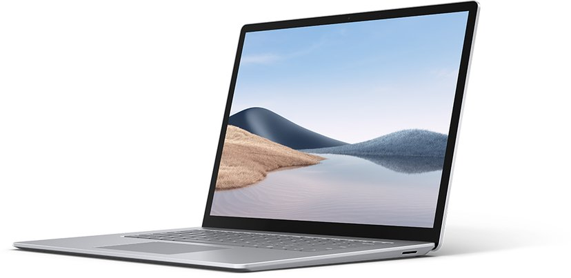 Microsoft Surface Laptop 4 for næringslivet Platinum Ryzen 7 8GB 256GB SSD 15""