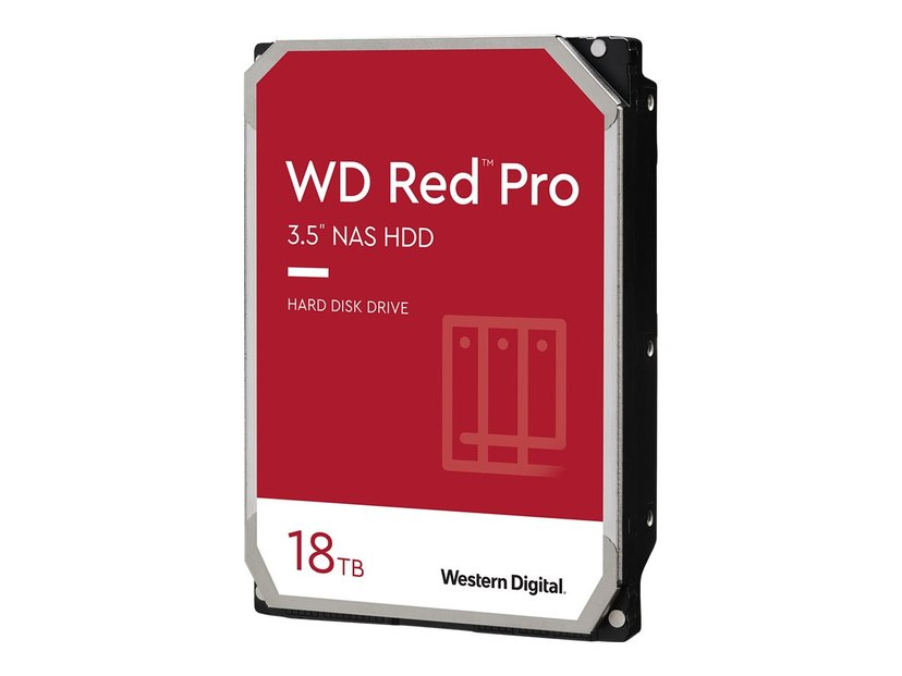 """WD Red Pro 18TB 3.5"""" Serial ATA-600"""