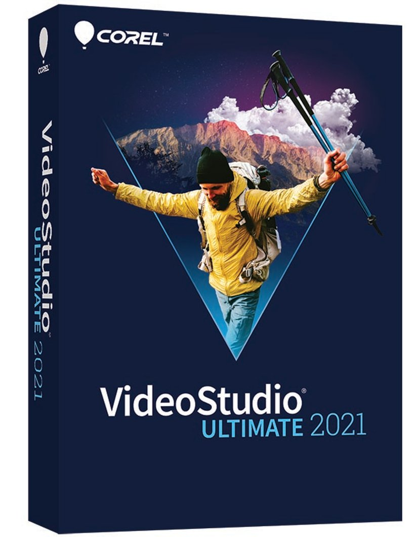 Corel Videostudio 2021 Ultimate Win Eng Mini Box
