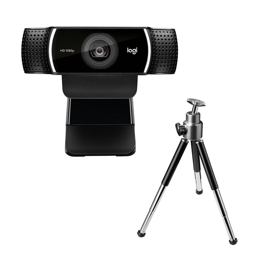 Logitech C922 HD Pro Stream Webkamera Sort