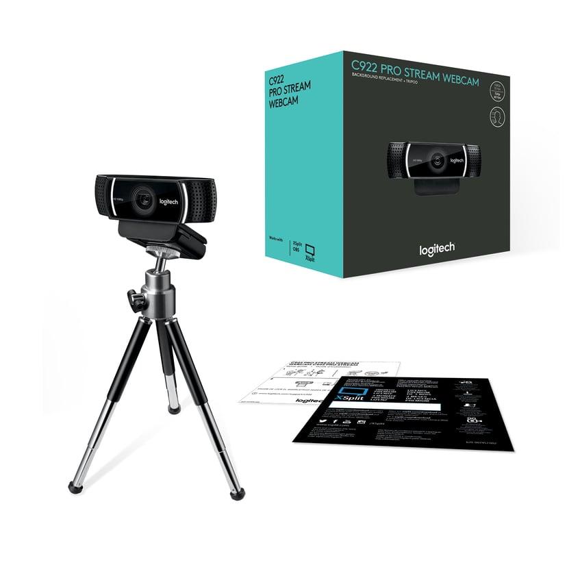 Logitech C922 HD Pro Stream Webcam Sort