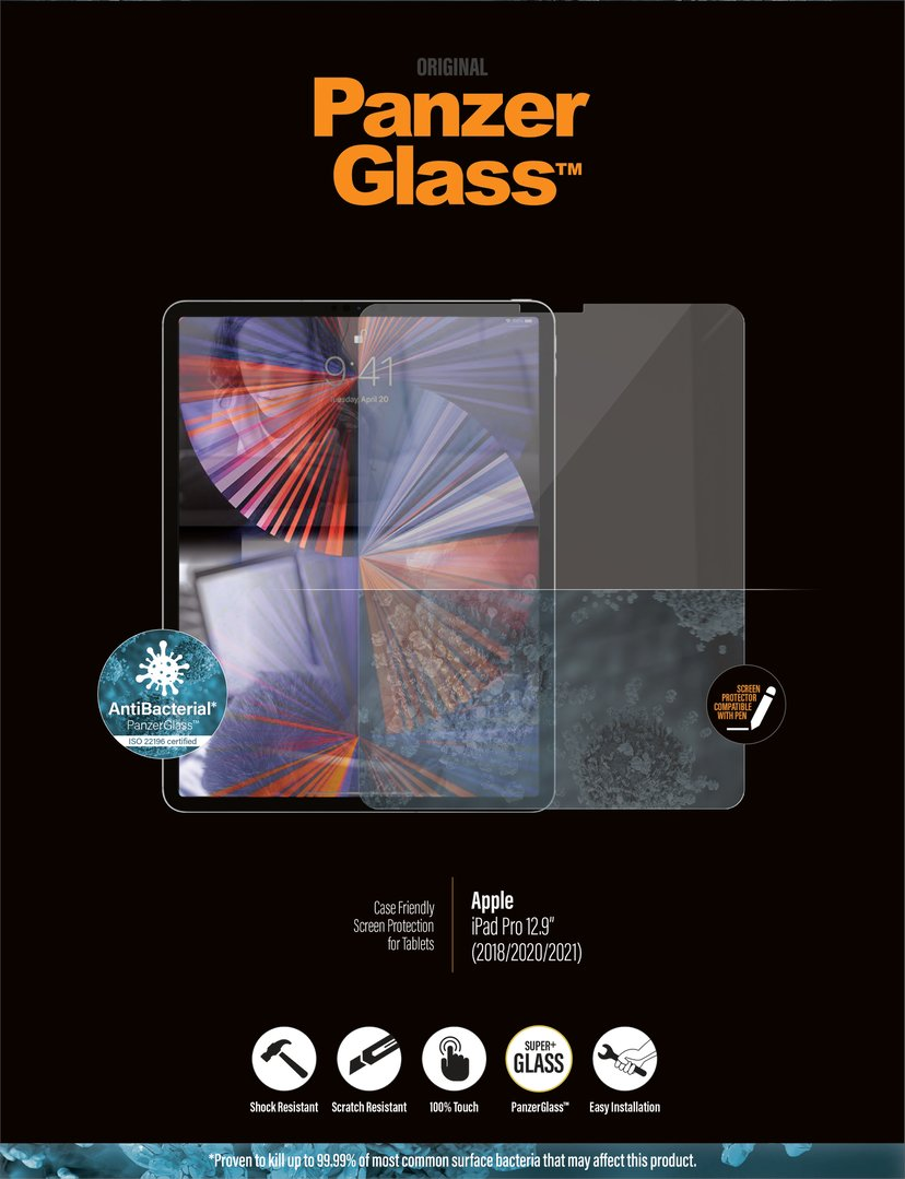 "Panzerglass Edge-to-Edge iPad Pro 12.9"" (5th gen), iPad Pro 12.9"" (4th gen)"