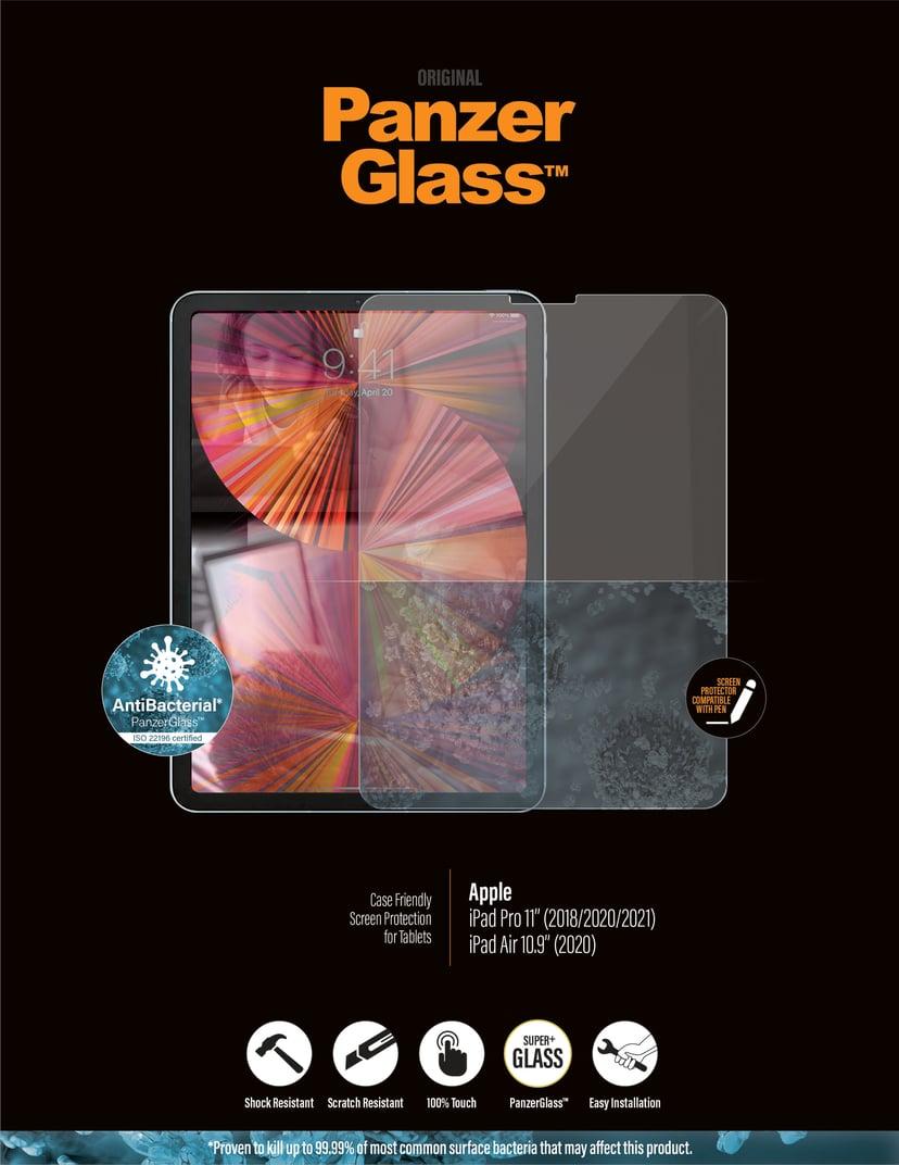 "Panzerglass Edge-to-Edge iPad Pro 11"" (1st gen), iPad Pro 11"" (2nd gen), iPad Pro 11"" (3rd gen), iPad Air 10.9"" (4th gen)"