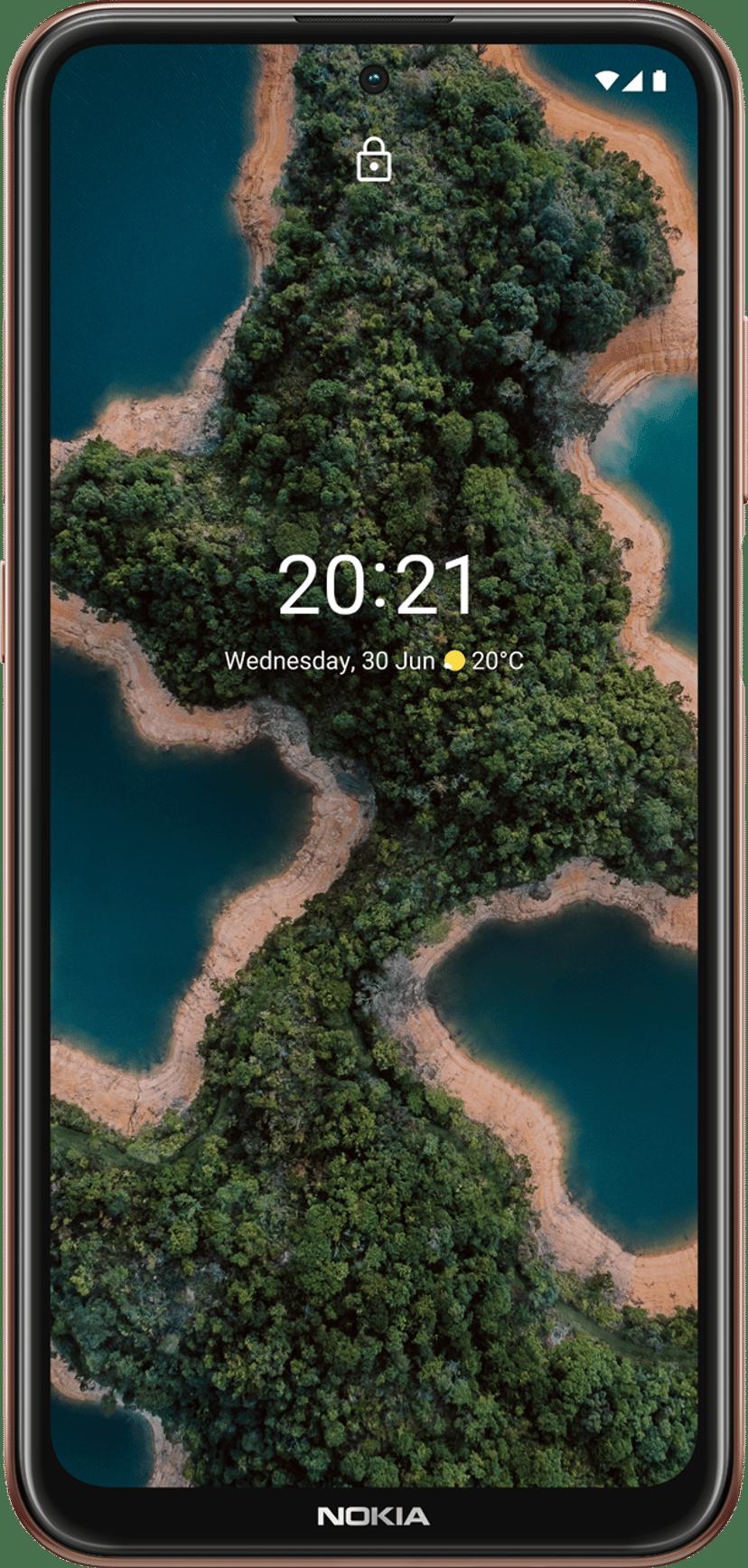 Nokia X20 128GB Dobbelt-SIM Midnight sun