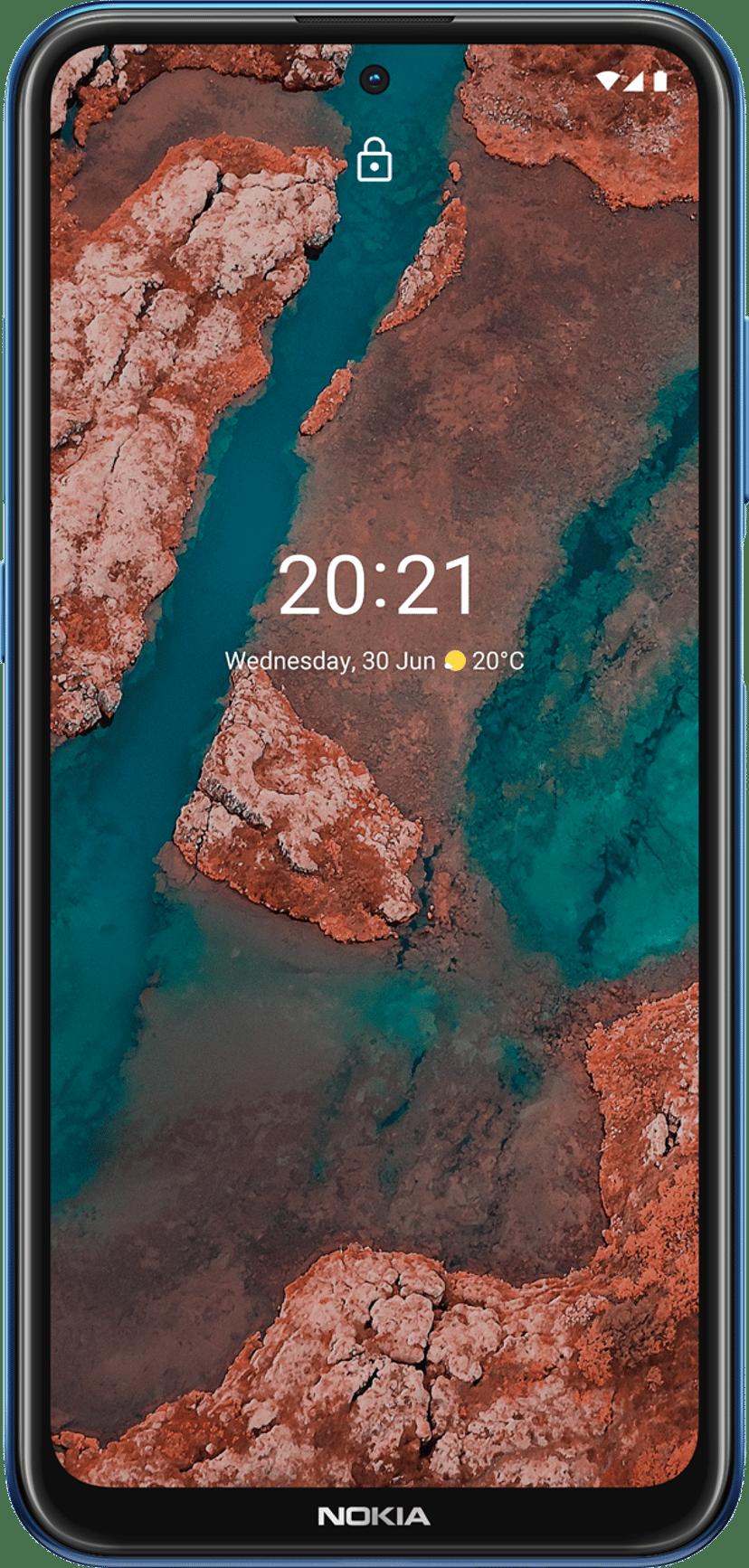 Nokia X20 128GB Dual-SIM Midnatsblå