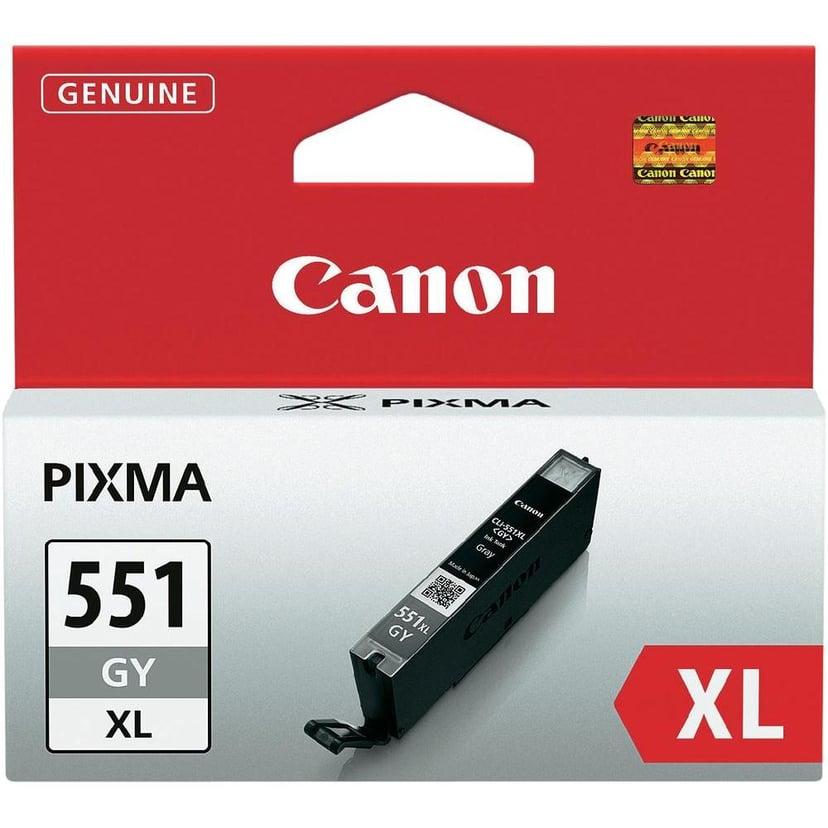 Canon Bläck Grå CLI-551GY XL