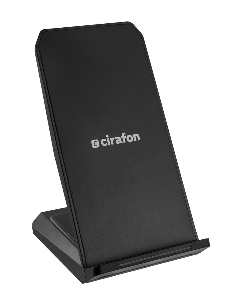 Cirafon On-table Qi Fast Chargd Wireless Stand Svart