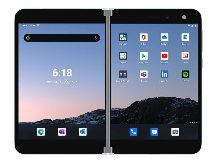 Microsoft Surface Duo 128GB Dual-SIM Glaciär
