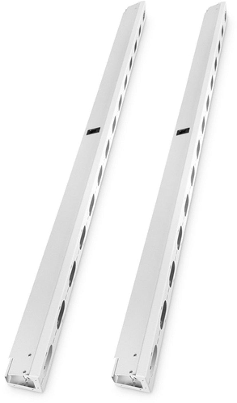 Digitus 42U Vertikal Kabelkanal Grå 2-pack