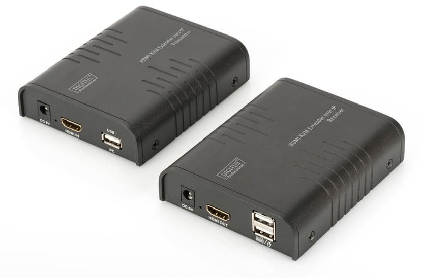 Digitus DS-55202 HDMI over IP Extender Set