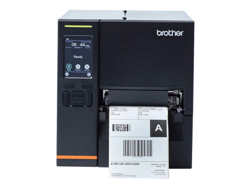 "Brother TJ-4121TN DT/TT 300dpi 4"" USB/Serial/LAN Touch LED"