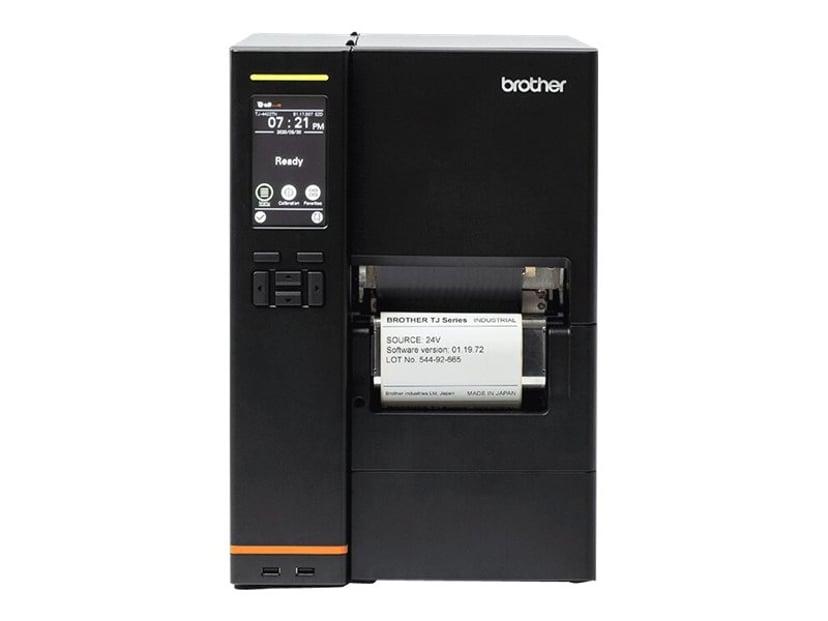 """Brother TJ-4522TN DT/TT 300dpi 4"""" USB/Serial/LAN Touch Rewind"""