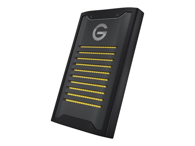 G-Technology ArmorLock Encrypted NVMe SSD 2TB Svart