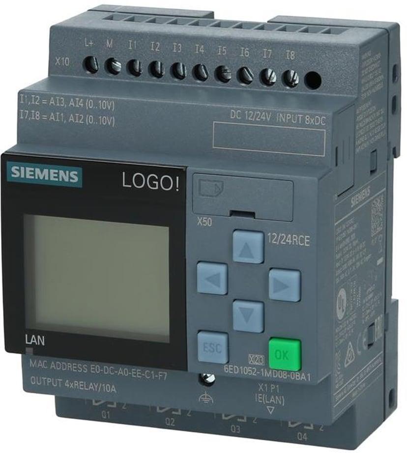 Siemens LOGO! Ethernet PLC CPU 230V