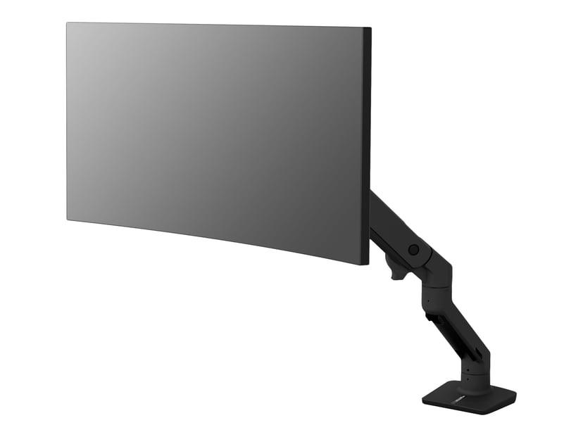 Ergotron HX Desk Monitor Arm Mattsvart