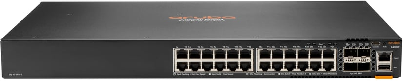 Aruba 6200F 24Xge 4Xsfp+ POE 370W Switch