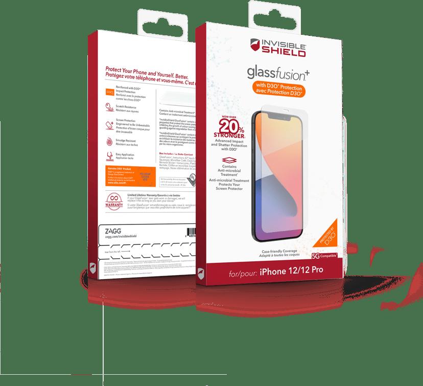 Zagg InvisibleShield GlassFusion+ iPhone 12 Pro, iPhone 12