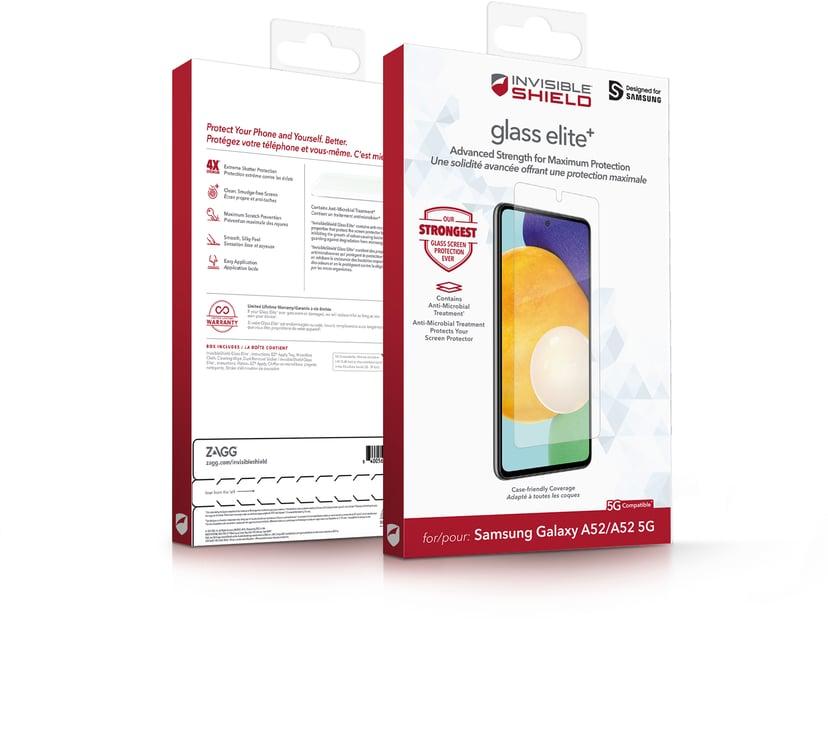 Zagg InvisibleShield Glass Elite+ Samsung Galaxy A52, Samsung Galaxy A52s