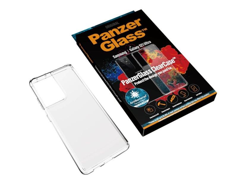 Panzerglass ClearCase Samsung Galaxy S21 Ultra Transparant