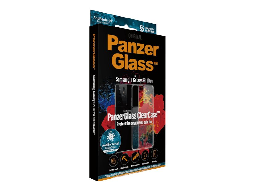 Panzerglass ClearCase Klar Samsung Galaxy S21 Ultra