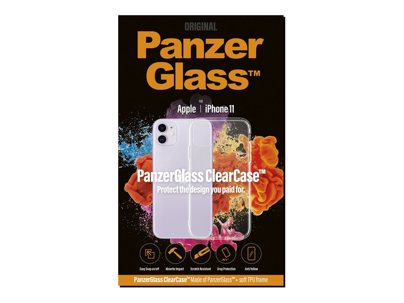 Panzerglass ClearCase iPhone 11 Klar