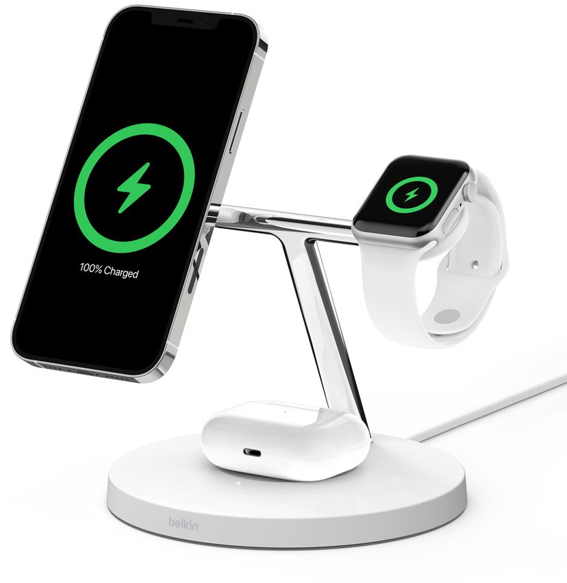 Belkin BOOST CHARGE PRO MagSafe 3-in-1 Vit