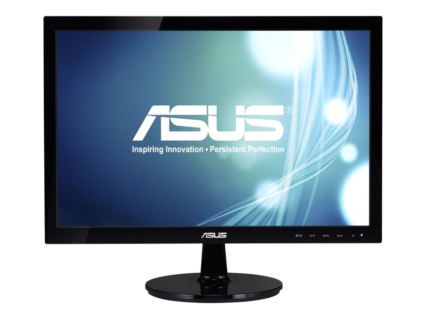 "ASUS VS197DE 18,5"" WIDE TFT BLACK #demo 18.5"" 1366 x 768 16:9"