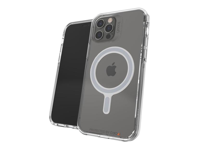 Gear4 MagSafe Crystal Palace Snap iPhone 12, iPhone 12 Pro Klar