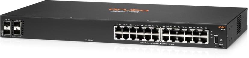 HPE Aruba 6100 24G 4SFP+ Switch