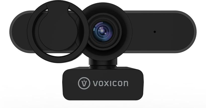 Voxicon Webcam 1080P Wide 1920 x 1080 Webbkamera Svart