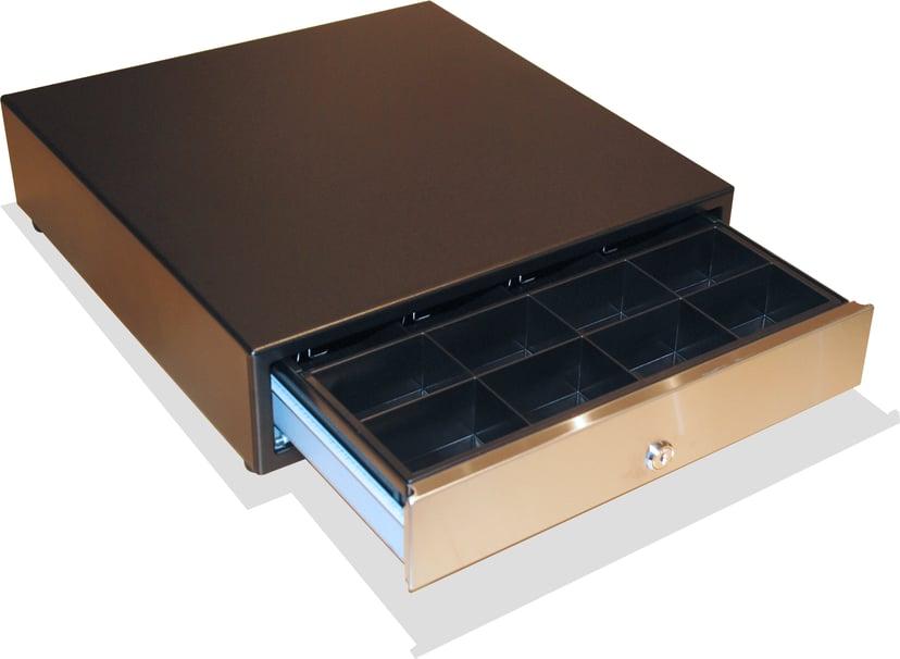 International Cash Drawer Kassalåda 3S-423 Svart/Silver USB