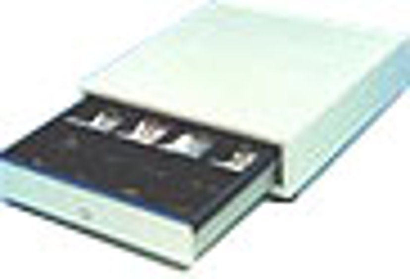 International Cash Drawer Cash Drawer 3S-423 Black/Silver USB