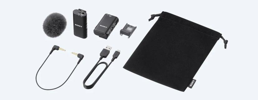 Sony ECM-W2BT Trådlös Mikrofon Svart