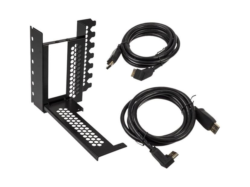 CableMod Vertical PCI-e Bracket - 2 x DisplayPort