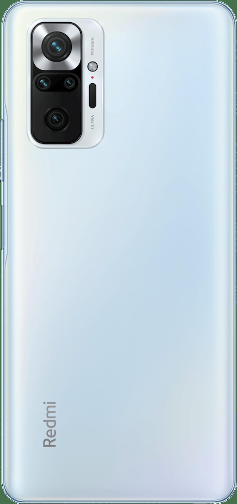 Xiaomi Redmi Note 10 Pro 128GB Dual-SIM Glacier blå