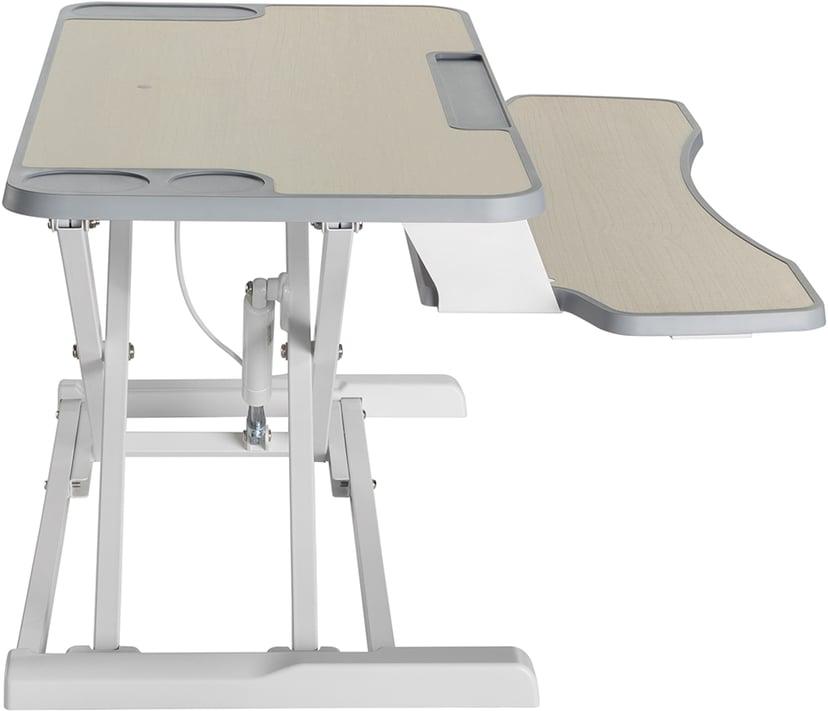 Prokord Sit-stand Desk Converter Deluxe Cherrywood