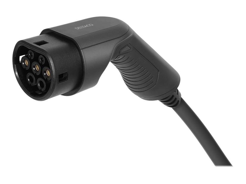 Deltaco e-Charge 5m IEC 62196 Type 2 Hane IEC 62196 Type 2 Hona