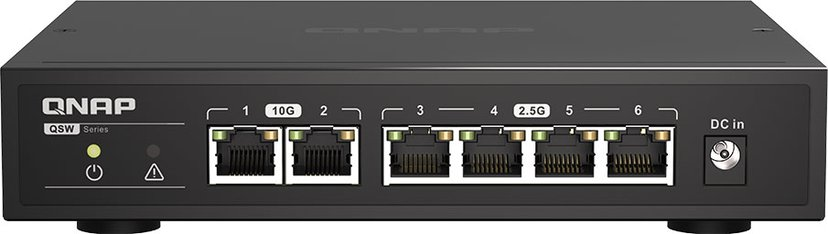 QNAP QSW-2104-2T Multi-Gig Switch