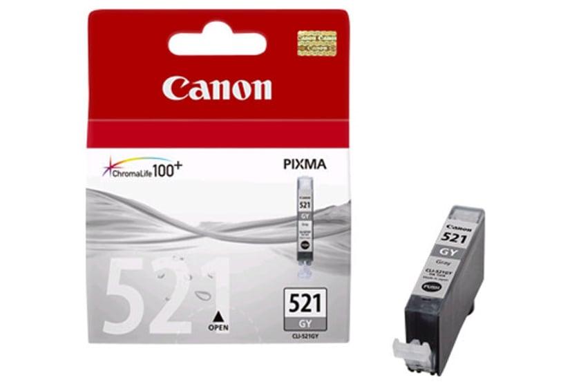 Canon Blæk Grå CLI-521GY - MP980