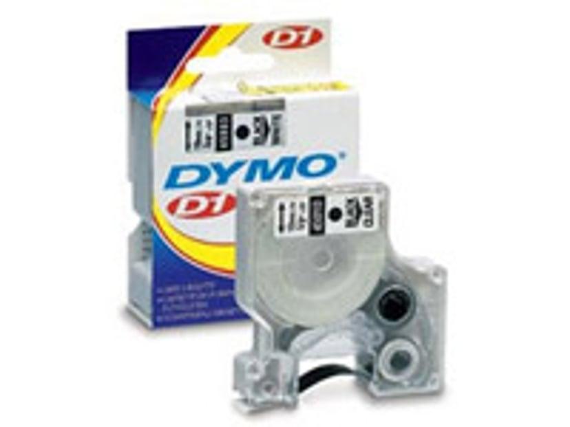 Dymo Tape D1 12mm Red/White