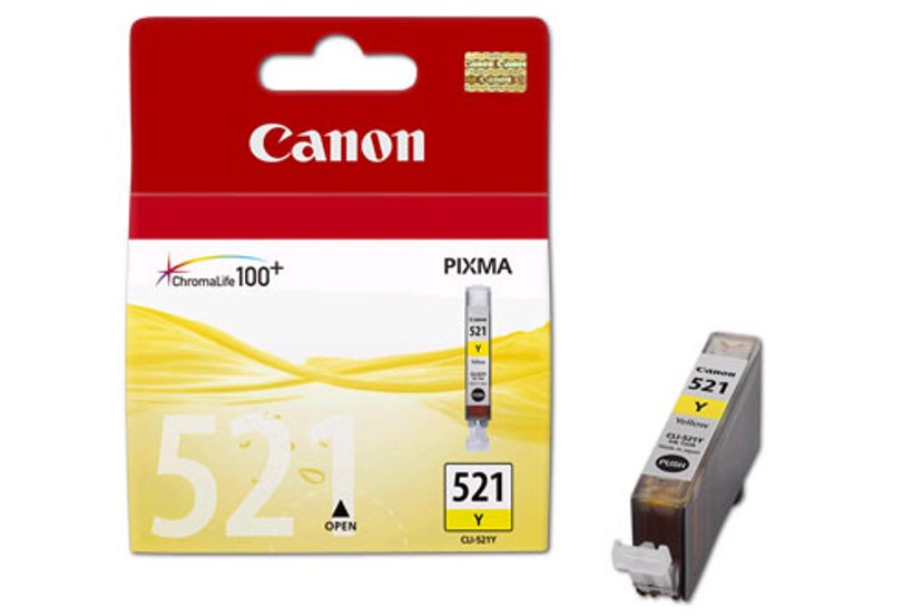 Canon Blekk Gul CLI-521Y - MP980
