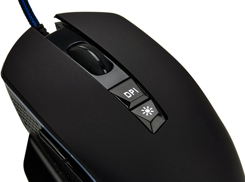 Voxicon Wired Mouse Gr650 Svart Mus Kabelansluten 6,400dpi