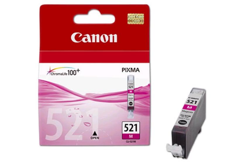 Canon Blekk Magenta CLI-521M - MP980