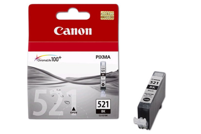 Canon Blekk Svart CLI-521BK - MP980