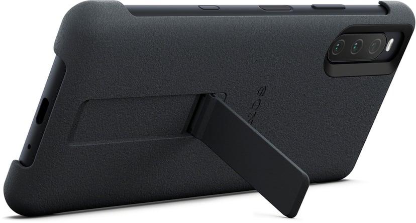 Sony - Baksidesskydd för mobiltelefon Sony Xperia 10 III Svart