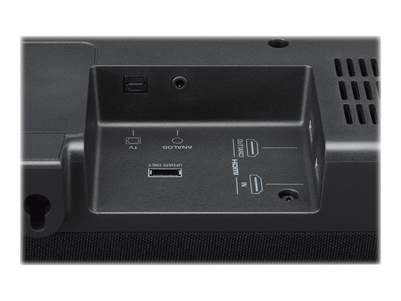 Yamaha YAS-207 soundbar med trådlös aktiv subwoofer